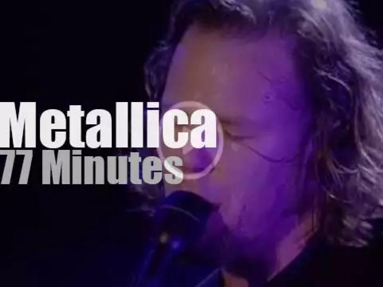Metallica plays at Woodstock '99 day 3 (1999)