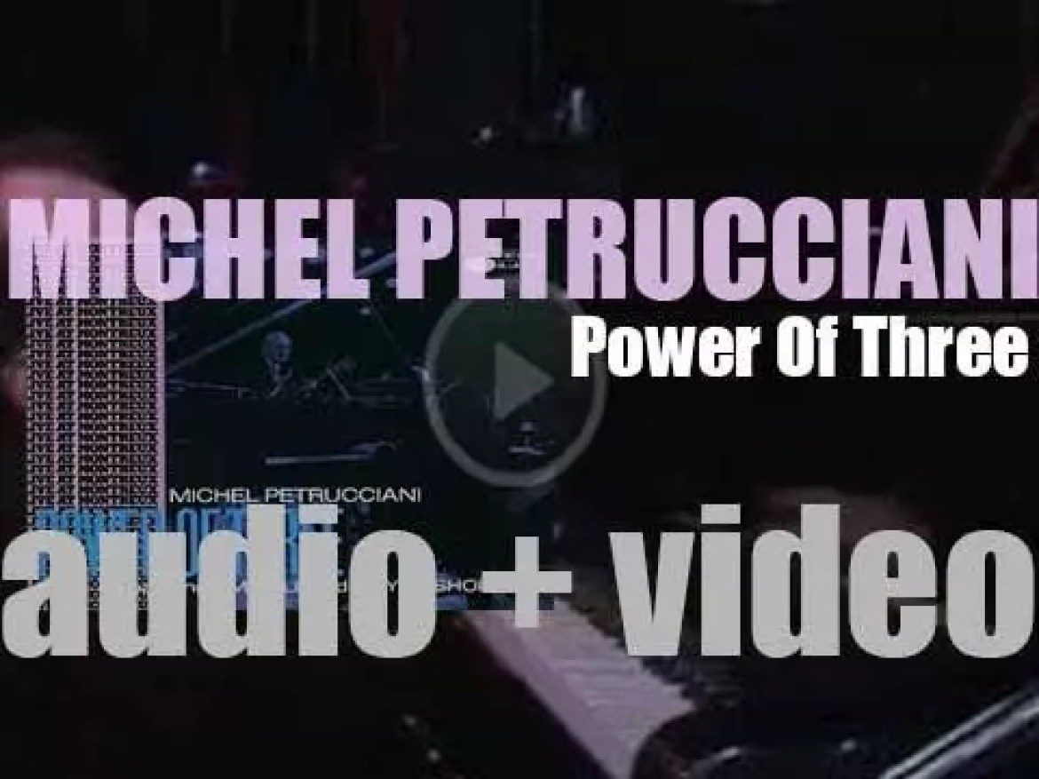 Michel Petrucciani records 'Power Of Three' at the Montreux Jazz Festival with Jim Hall and Wayne Shorter (1986)