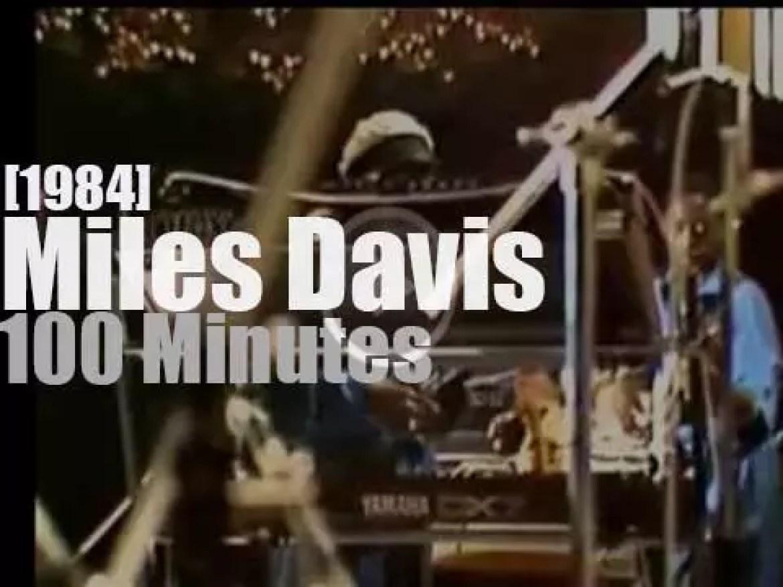 Miles Davis attends Montreux Jazz Festival (1984)