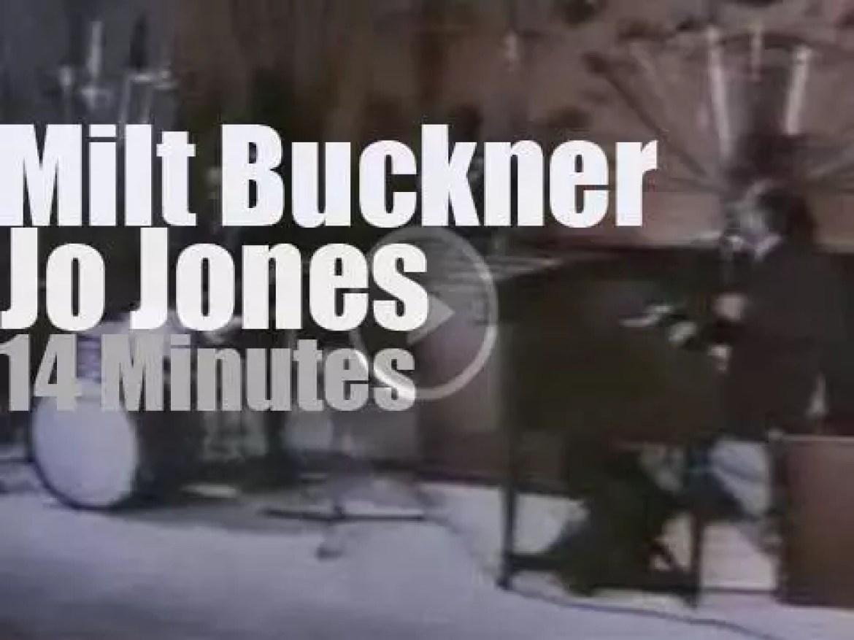 Milt Buckner & Jo Jones are in Provence (1975)