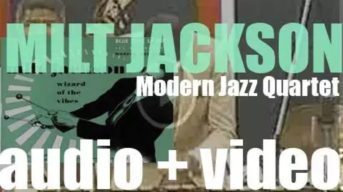 Milt Jackson records 'Wizard of the Vibes' featuring Thelonious Monk, Lou Donaldson and the Modern Jazz Quartet (1948)