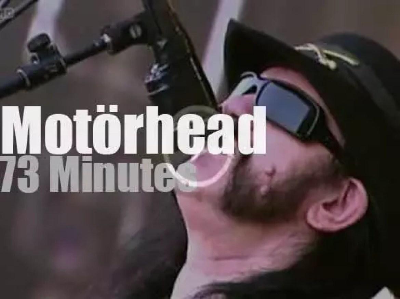 Motörhead rock  a French festival  (2008)