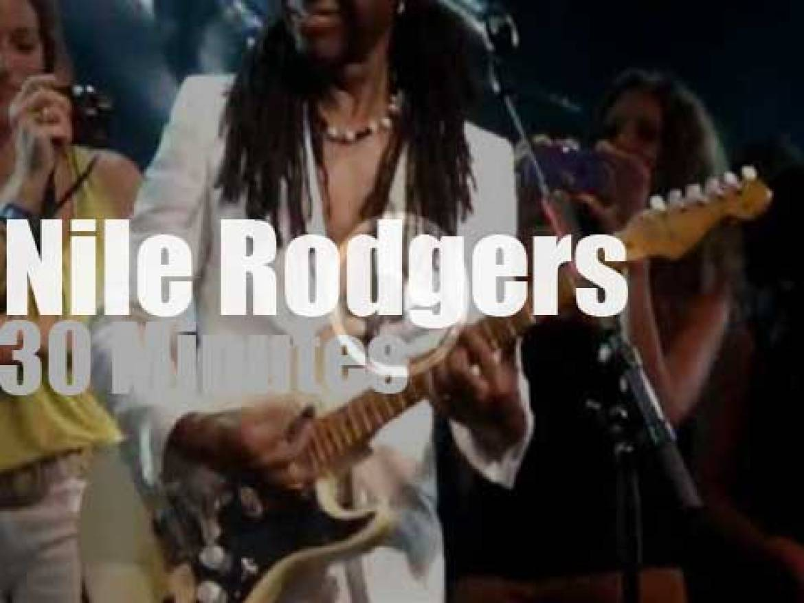 Nile Rodgers teaches & plays in Montreux (2012)