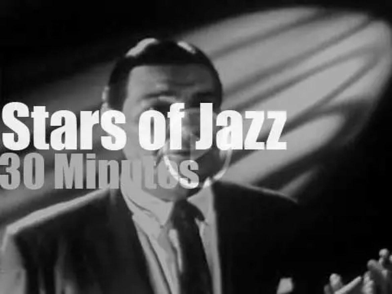 """On TV today, Jack Teagarden at """"Stars Of Jazz"""" (1956)"""