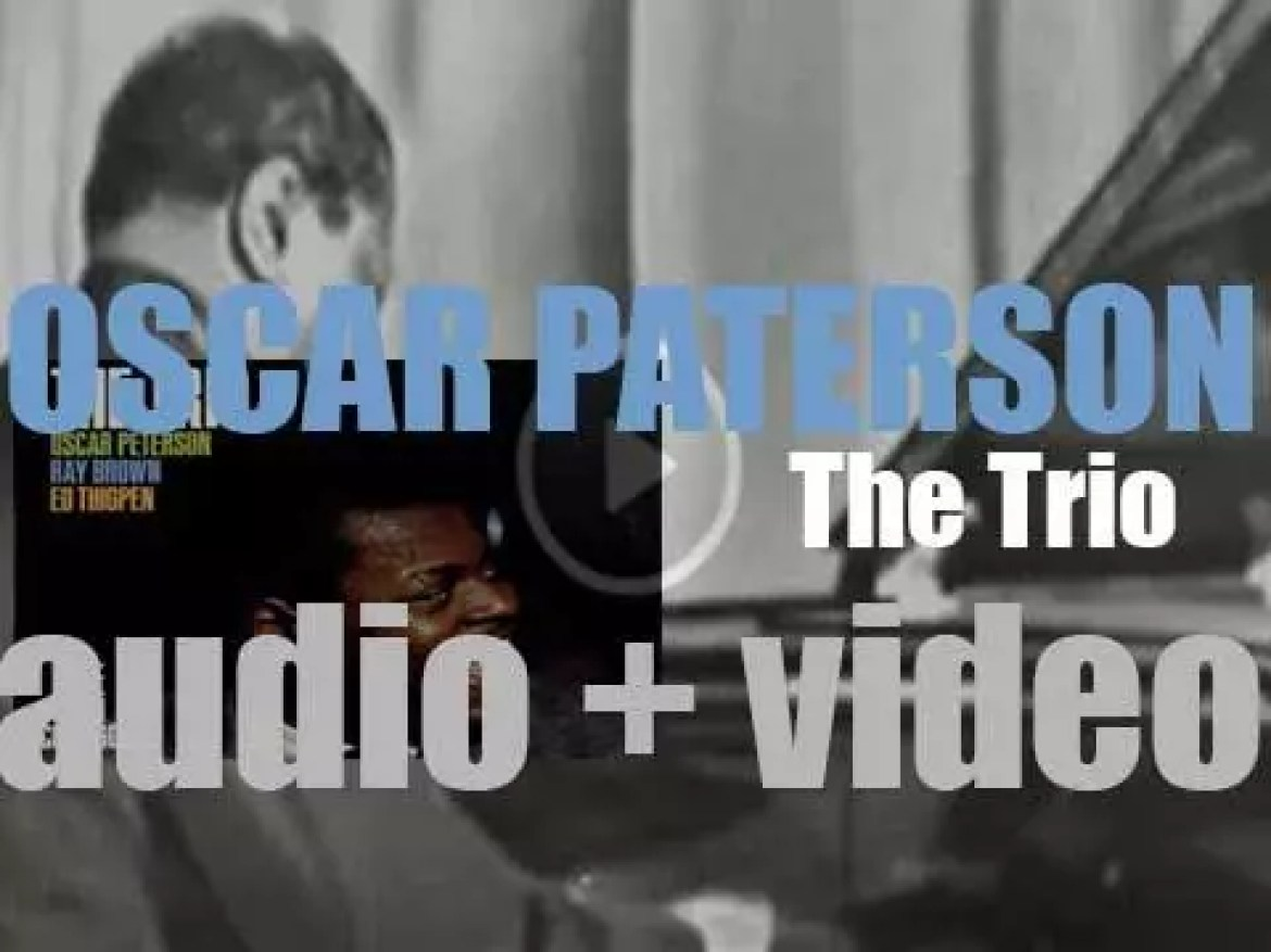 Oscar Peterson records 'The Trio' at the London House in Chicago (1961)