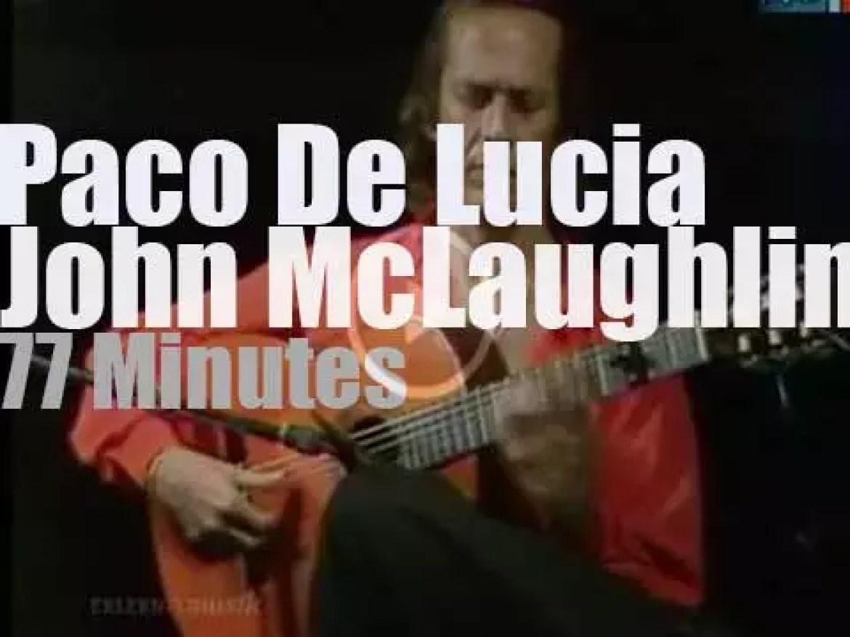 Paco de Lucia & John McLaughlin meet in East Berlin (1987)