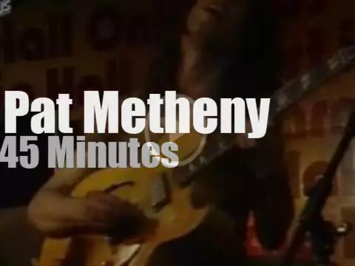 Pat Metheny Group is in Hambourg (1980)