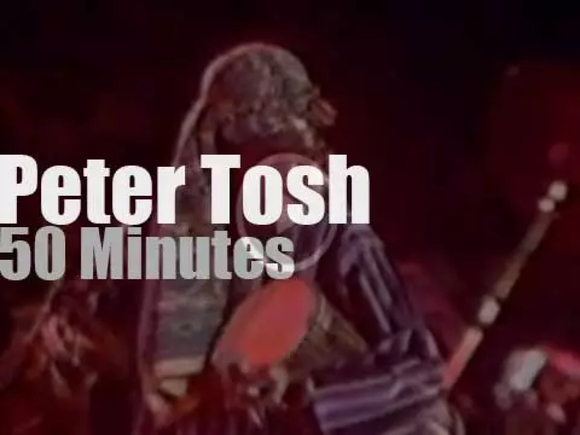 Peter Tosh visits Ontario (1980)