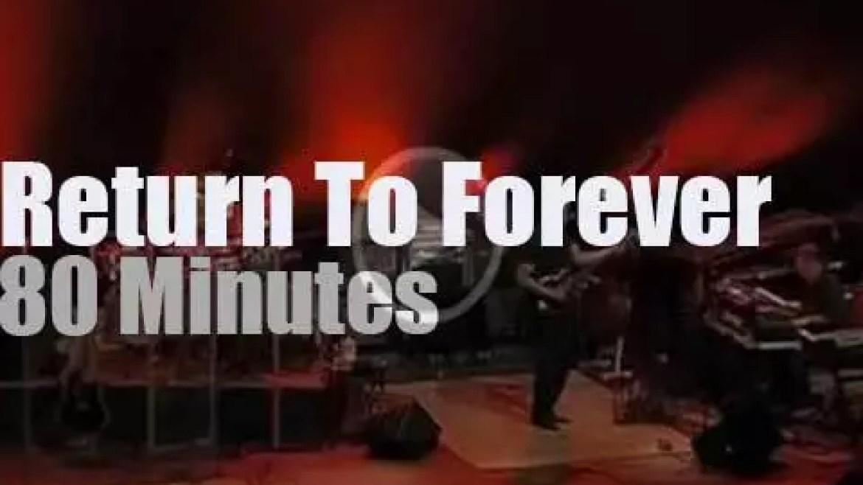 Return To Forever  performs in San Sebastian (2008)