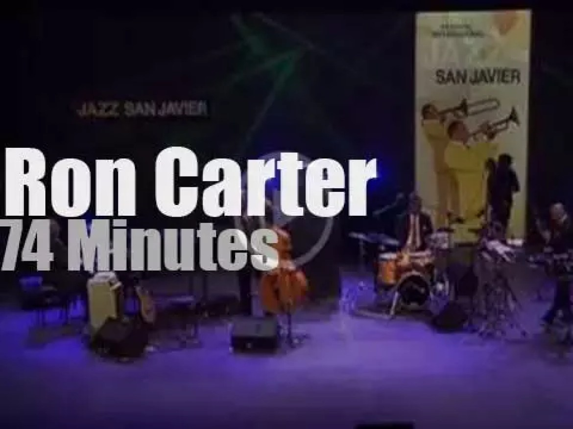 The Ron Carter Quintet  is in Murcia, Spain (2009)