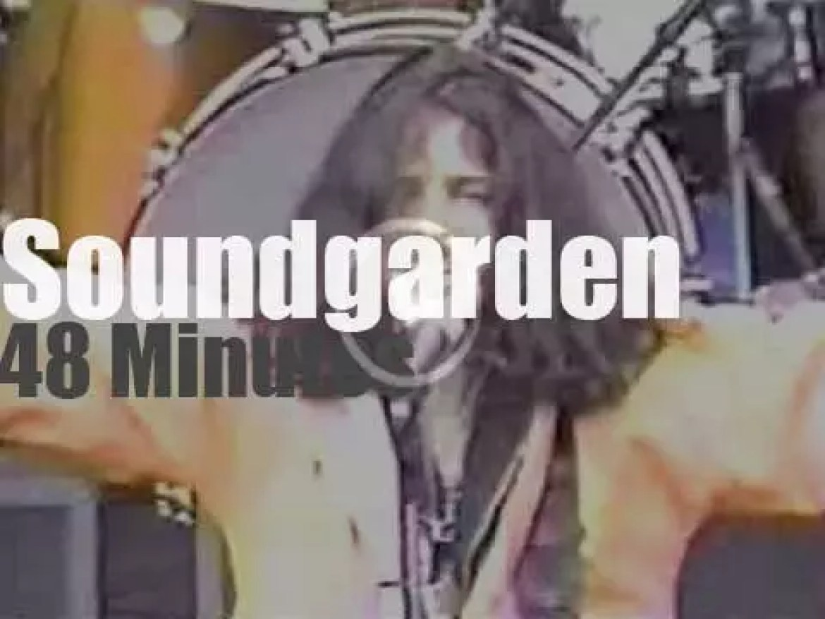 Soundgarden are in Washington State (1992)