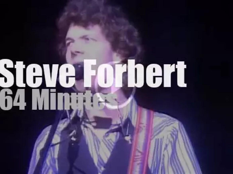"""Steve Forbert debuts """"Romeo's Tune"""" in New Jersey (1979)"""