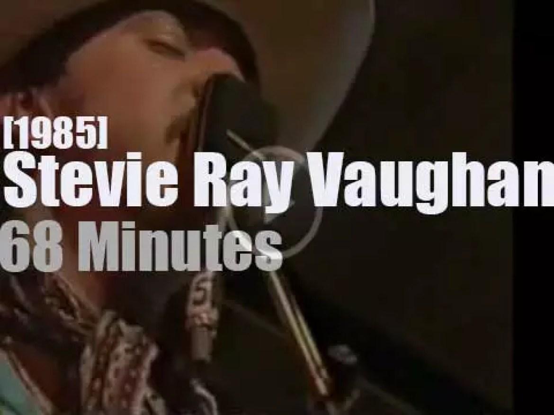 Stevie Ray Vaughan visits Finland (1985)