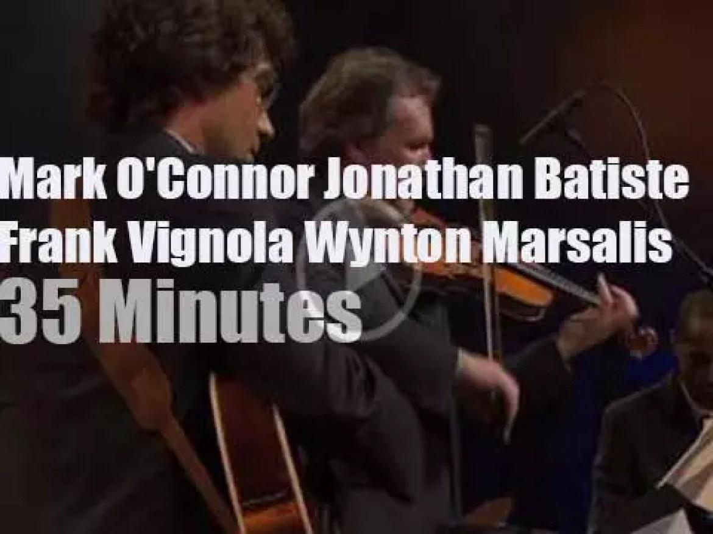 Wynton Marsalis, Jon Batiste et al play in Marciac (2010)