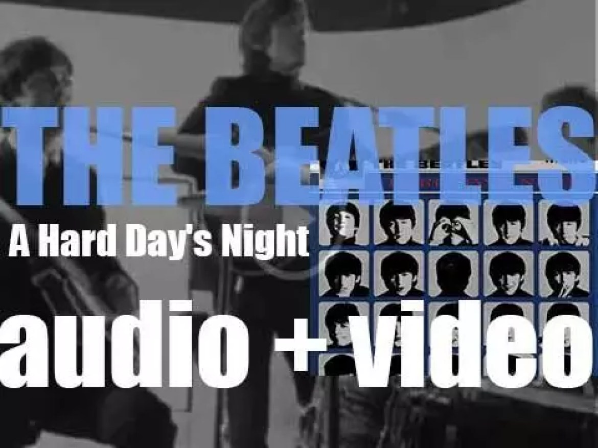 The Beatles release their third album : 'A Hard Day's Night' featuring the title track plus 'Can't Buy Me Love' (1964)