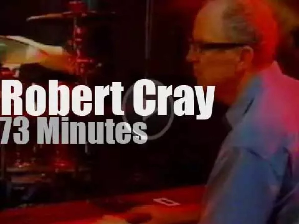 Robert Cray & Band attend a Spanish festival (2005)