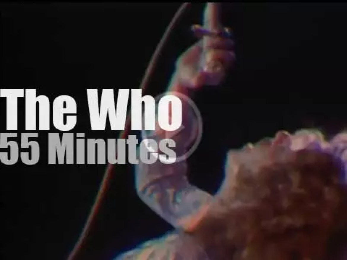 The Who brings Tommy to Tanglewood (1970)