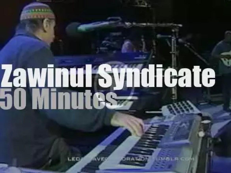 Joe Zawinul takes his Syndicate to Vienne (1997)