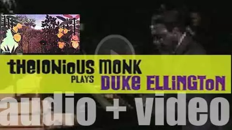 Thelonious Monk records 'Thelonious Monk Plays Duke Ellington' for Riverside (1955)