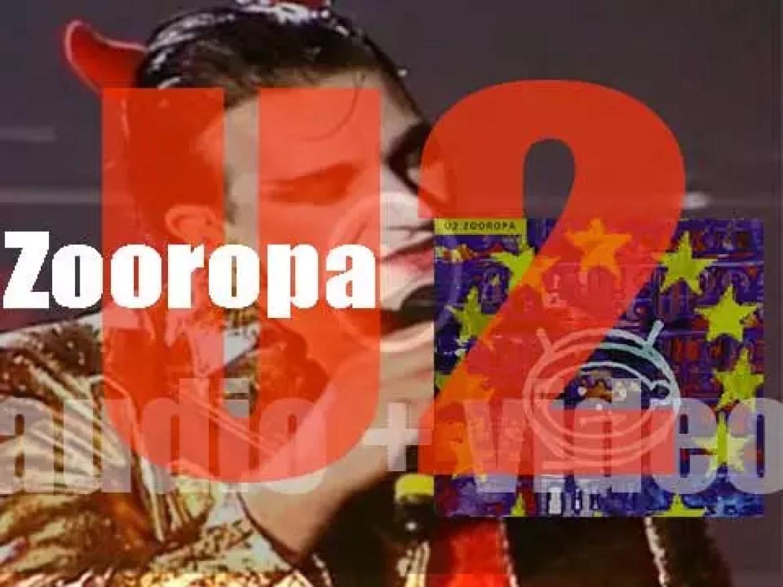 Island publish U2's eighth album : 'Zooropa' produced by Flood, Brian Eno & The Edge (1993)