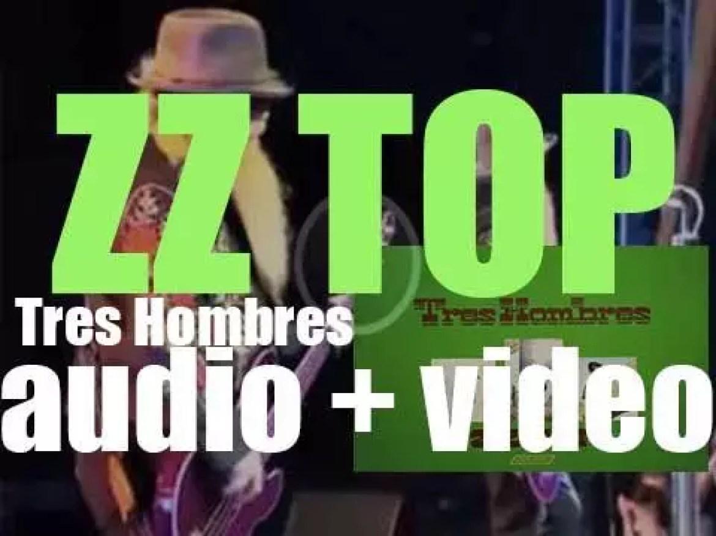 ZZ Top release their third album : 'Tres Hombres' featuring  'La Grange' (1973)
