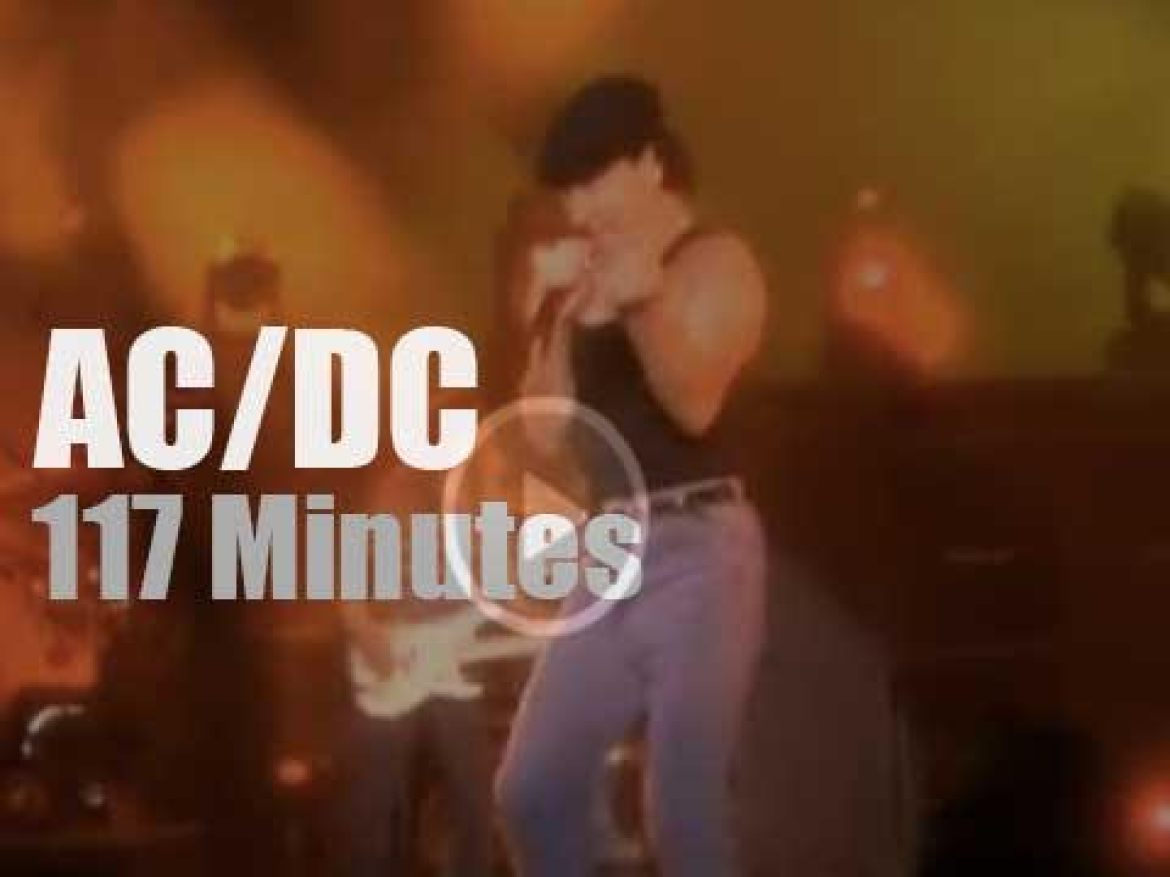 """AC/DC are """"Monsters Of Rock"""" (1991)"""