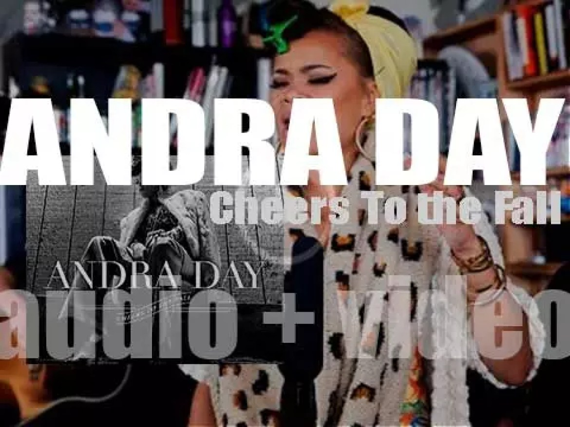 Andra Day releases 'Cheers To the Fall,' her first album produced by Adrian Gurvitz and Raphael Saadiq (2015)