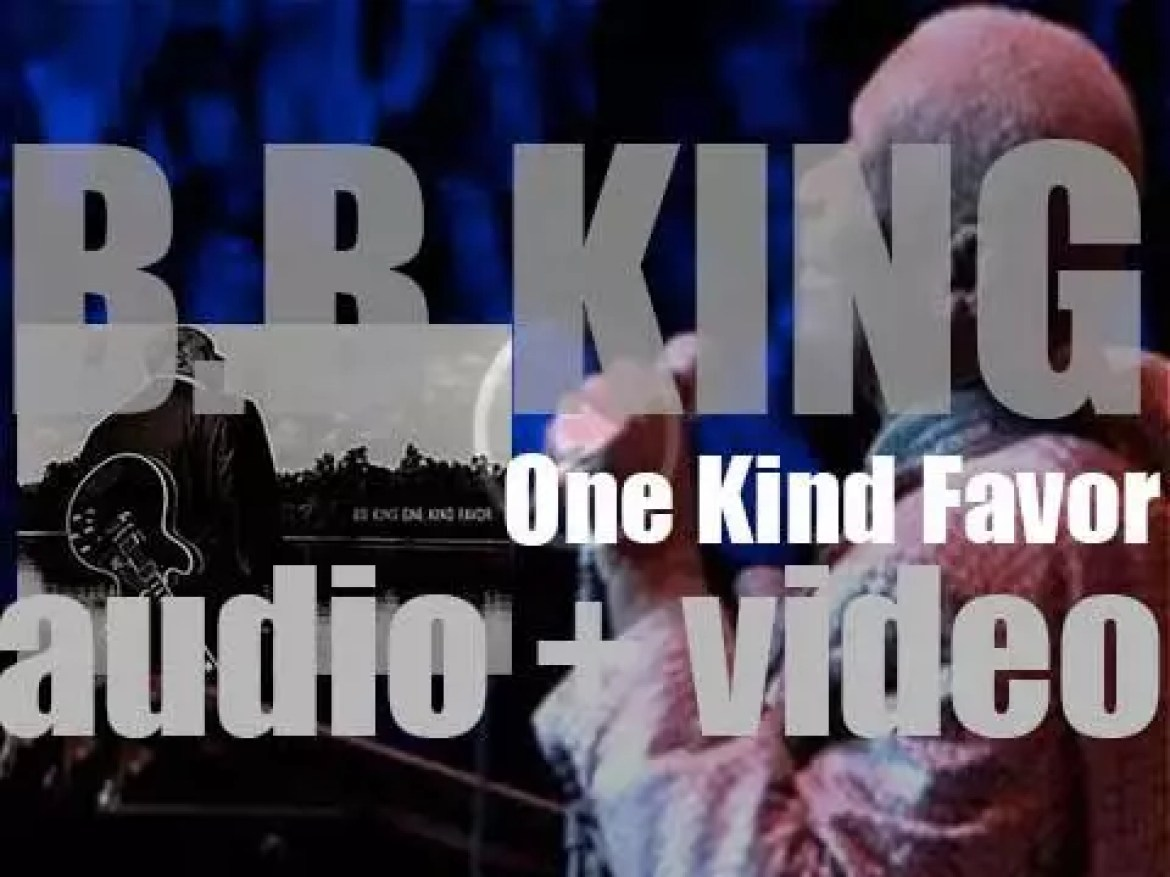Geffen Records publish B.B. King's twenty fourth album : 'One Kind Favor' produced by T-Bone Burnett (2008)