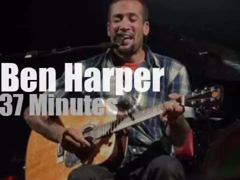 Ben Harper visits Vancouver (2011)