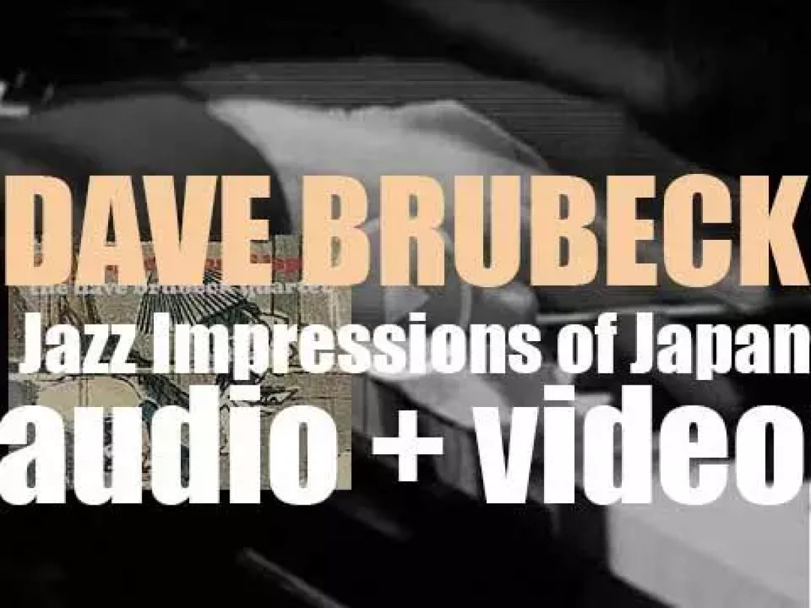 Columbia publish 'Jazz Impressions of Japan' by The Dave Brubeck Quartet (1964)