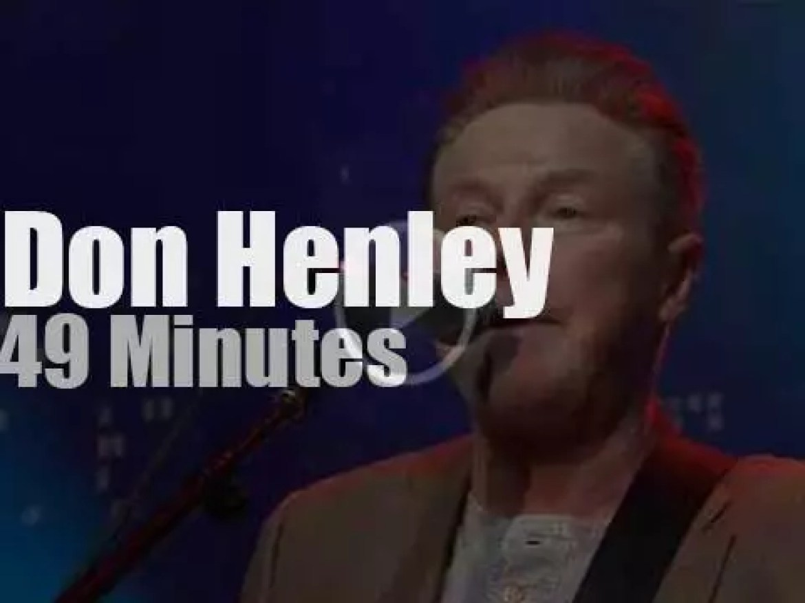Don Henley goes country in  Austin (2015)