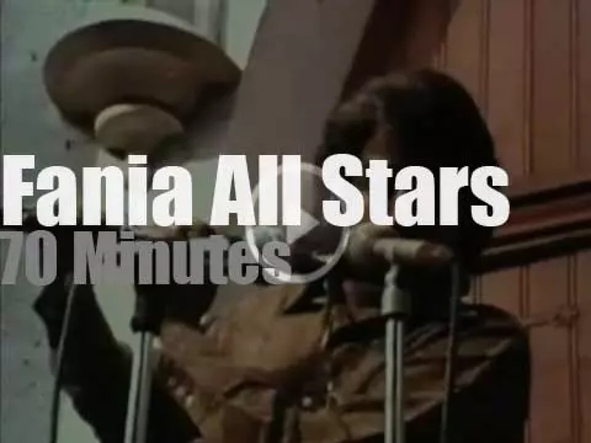 """Fania All Stars have a """"Latin Thing""""  (1971)"""
