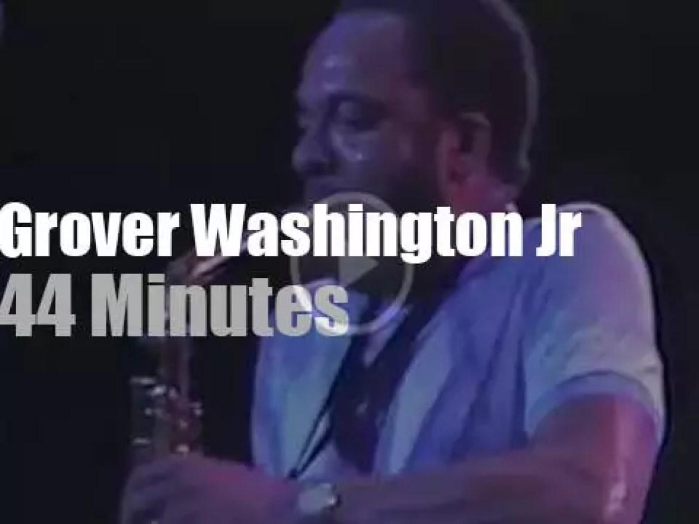 Grover Washington Jr funkifies Tokyo (1983)