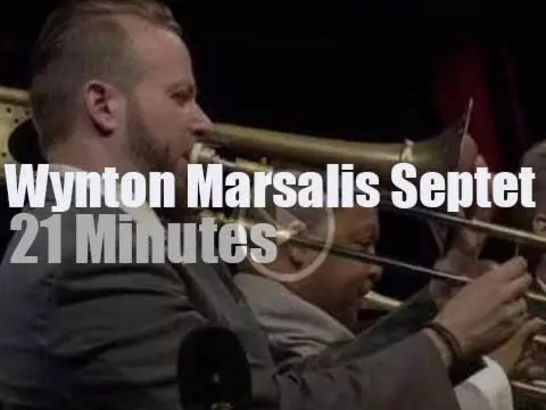 Wynton Marsalis Septet is at Jazz in Marciac (2014)