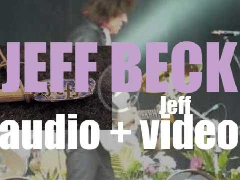 Epic publish Jeff Beck's ninth album : 'Jeff' (2003)