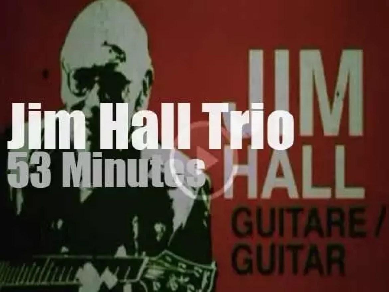 Jim Hall meets Kenny Barron & Dave Holland (2009)