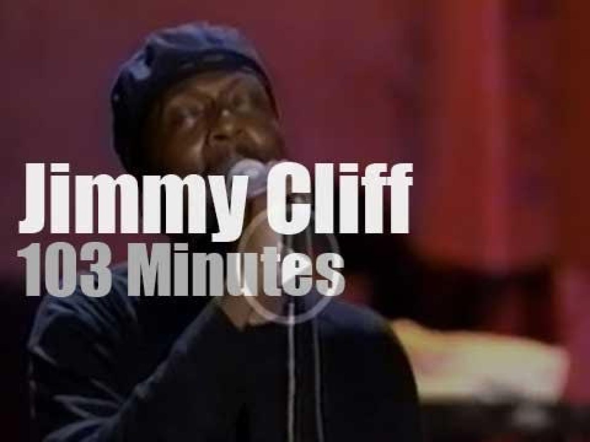 """Jimmy Cliff attends """"Woodstock 94"""" Day 3 (1994)"""