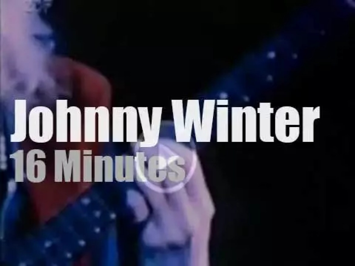 Johnny Winter plays at Woodstock (1969)