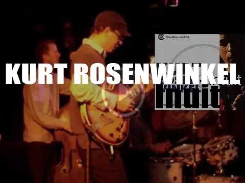 Kurt Rosenwinkel records 'Intuit,' his second album for Criss Cross Jazz (1999)