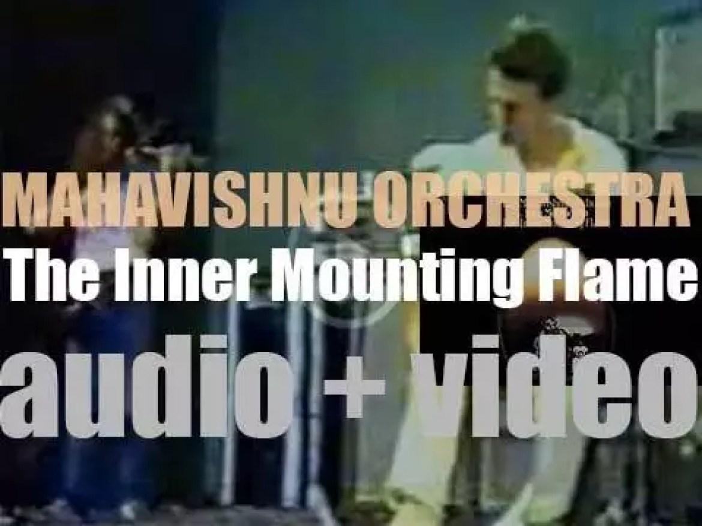 C.B.S. publish Mahavishnu Orchestra's first album : 'The Inner Mounting Flame' (1971)