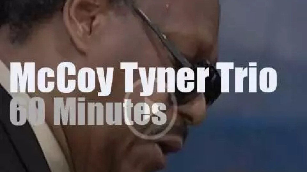 McCoy Tyner & His Trio  play at Newport Jazz (1998)