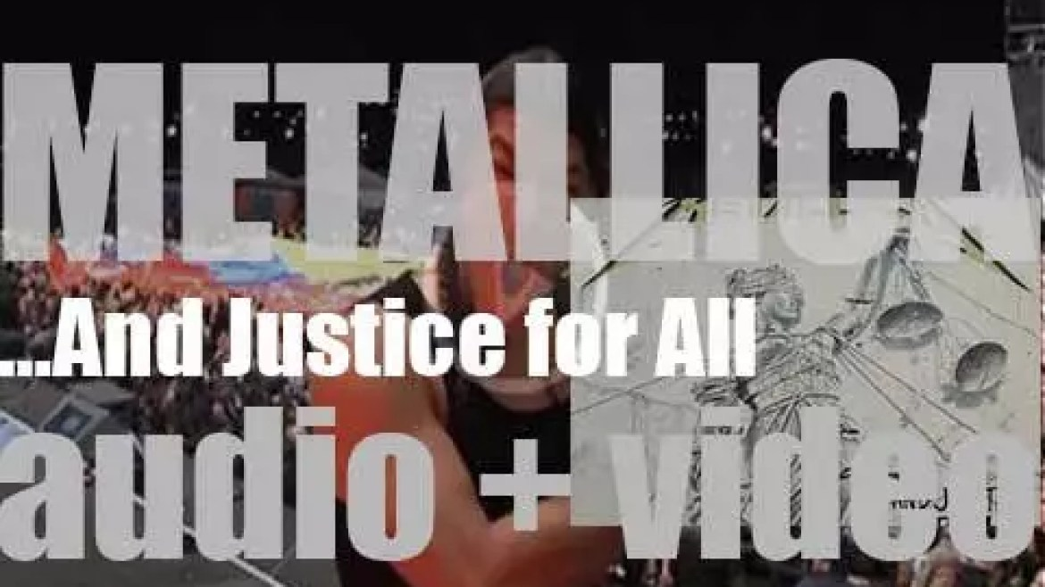 Elektra Records publish Metallica '…And Justice for All' featuring 'One' (1988)