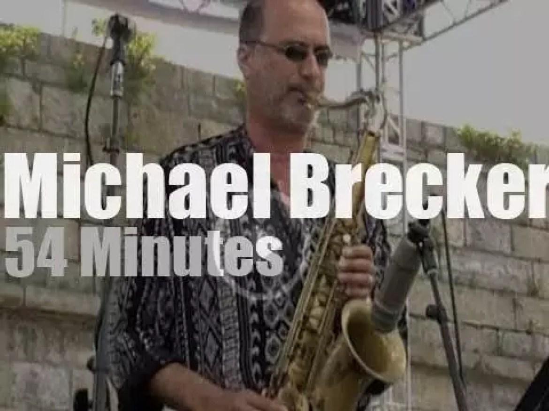 Michael Brecker plays at Newport Jazz (1998)