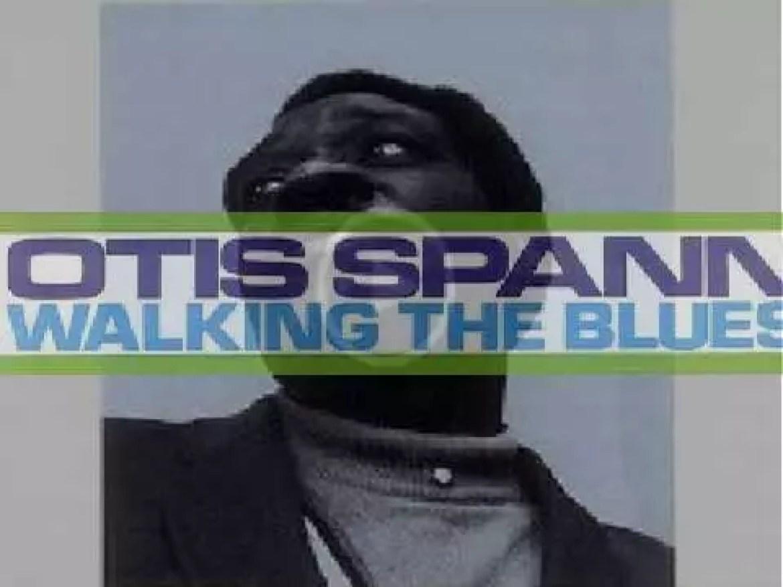 Otis Spann records the album 'Walking the Blues' for Candid (1960)