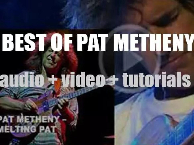 Happy Birthday Pat Metheny. 'Melting Pat'