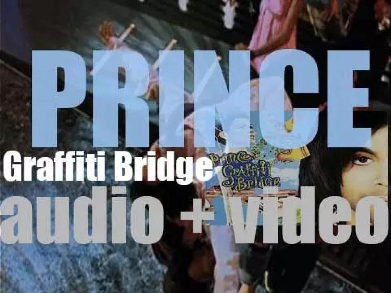 Prince releases 'Graffiti Bridge,' his twelfth album and the soundtrack to the eponym film (1990)