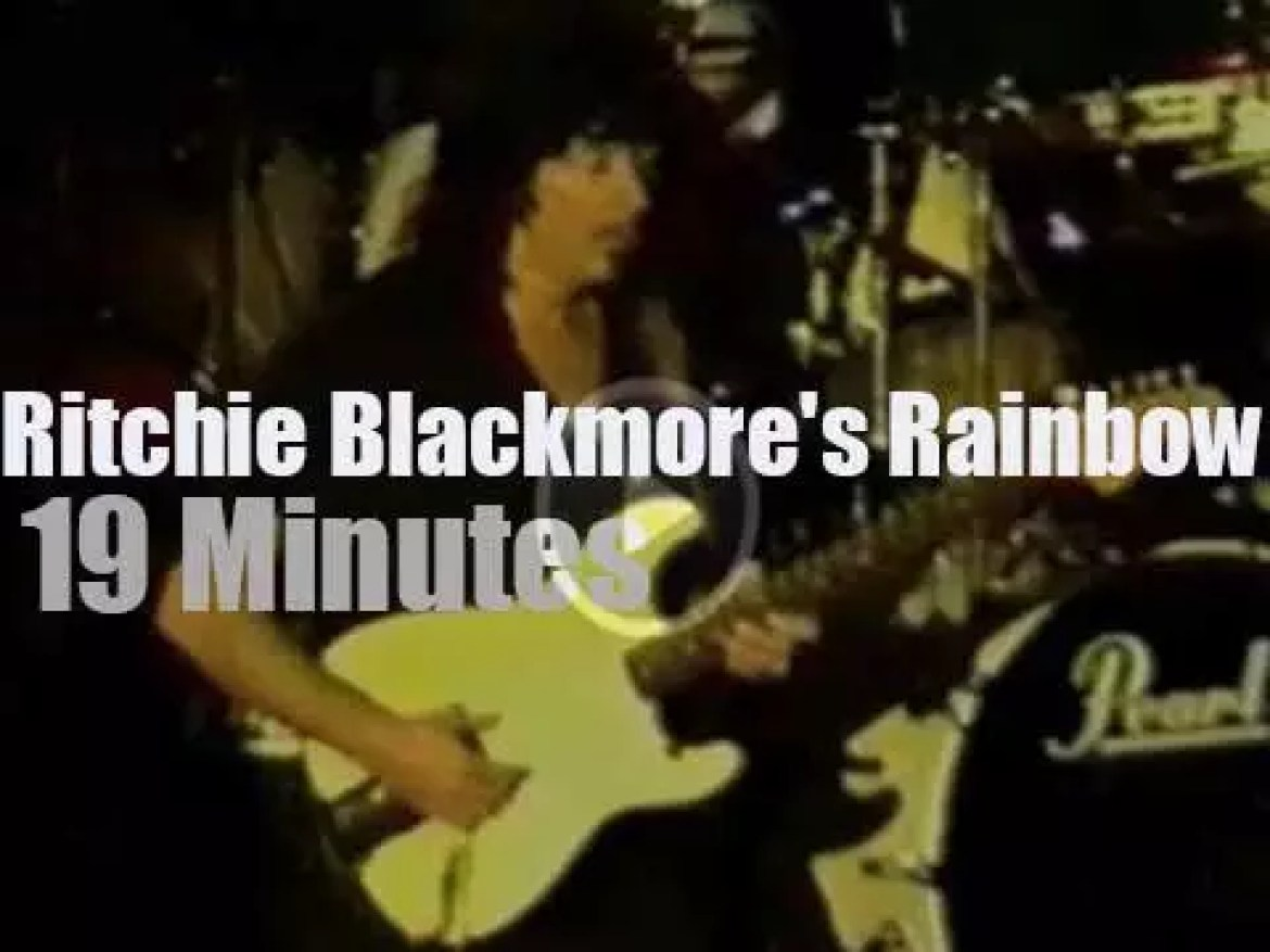 Ritchie Blackmore's Rainbow  go to a German club (1996)