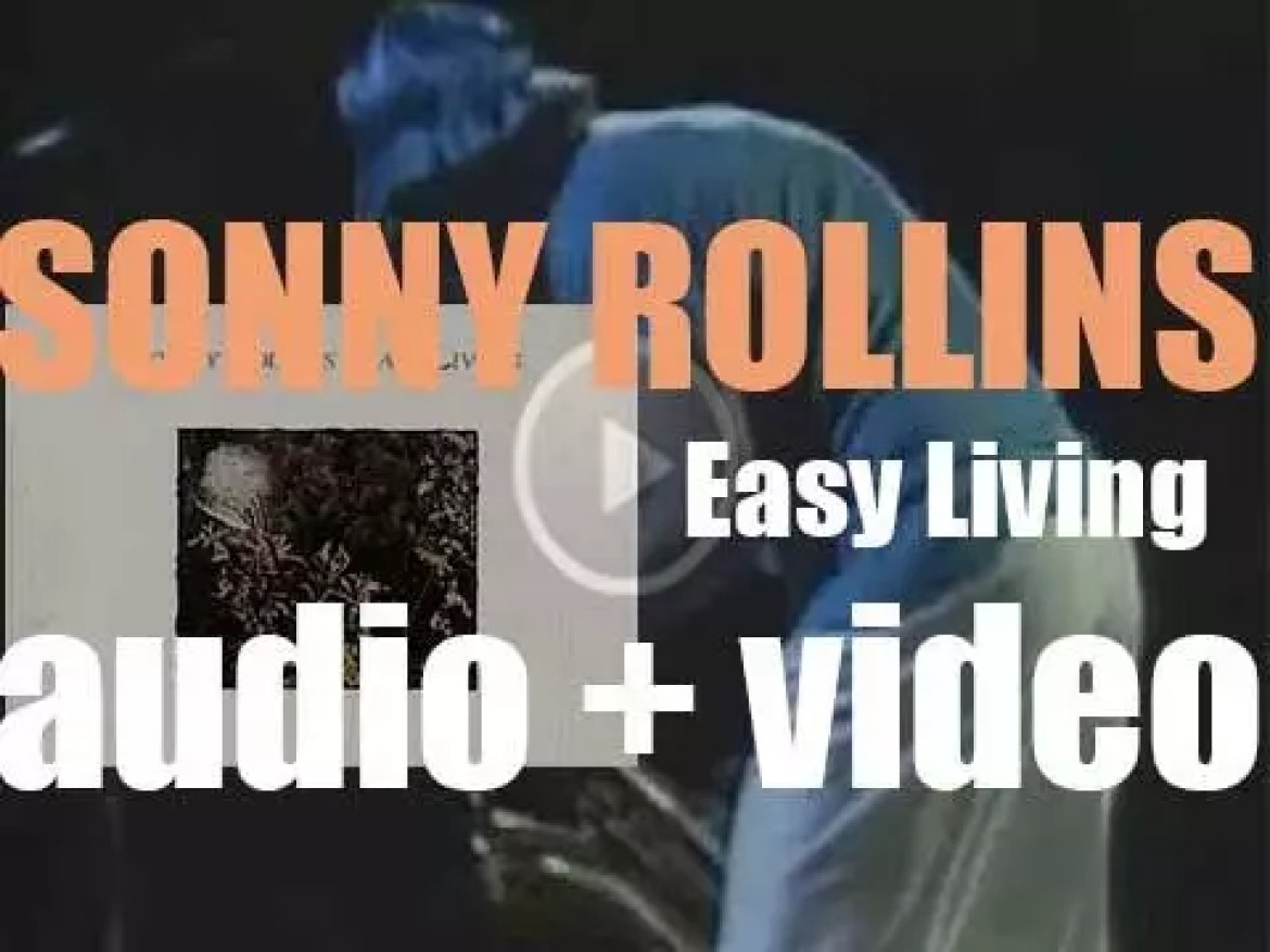 Sonny Rollins records 'Easy Living' with George Duke, Paul Jackson and Tony Williams (1977)