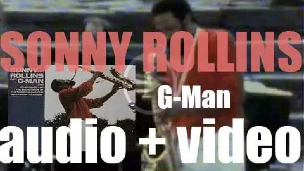 Sonny Rollins records 'G-Man,' a live album, at Opus 40 In Saugerties, NY (1986)