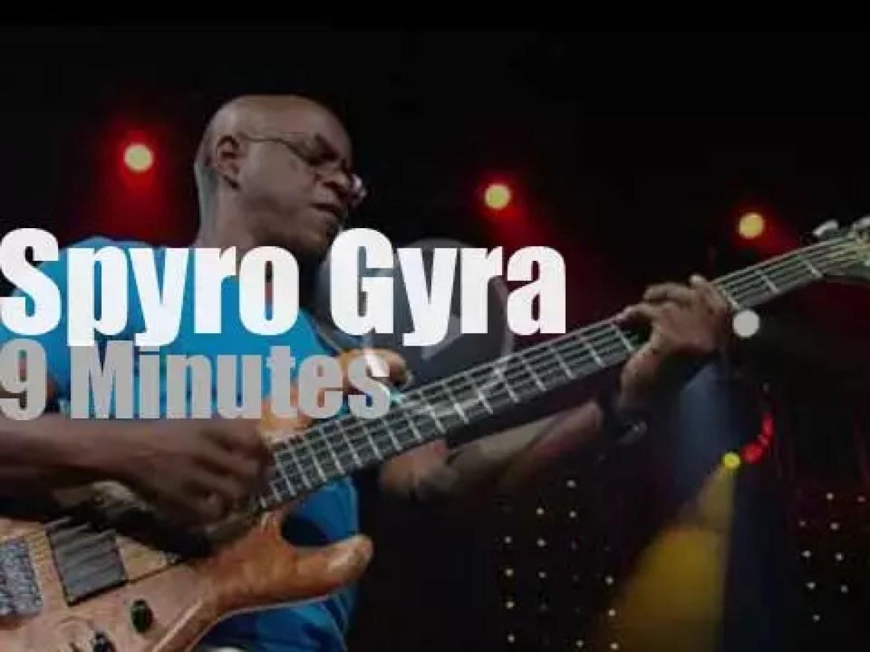 Spyro Gyra play in Marciac (2014)